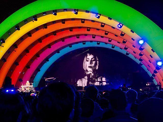 Concierto de Lady Gaga en la inauguración formal del Apple Park