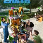 Jugando a Minecraft™ Earth