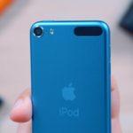 iPod touch 2019 en color azul