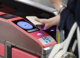 Pagando con el iPhone en el transporte público