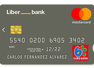 Tarjeta EURO6000 Liberbank
