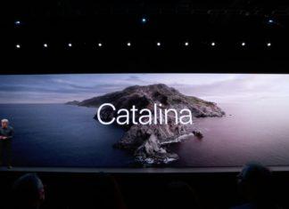 Mac durante la presentación de macOS Catalina en la WWDC 2019