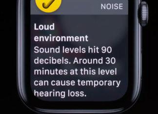 Apple Watch detectando demasiado ruido
