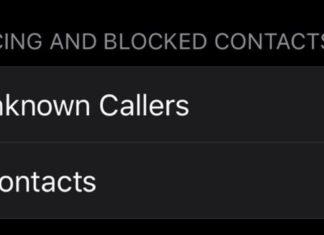 Opción para enviar llamadas de desconocidos al buzón de voz