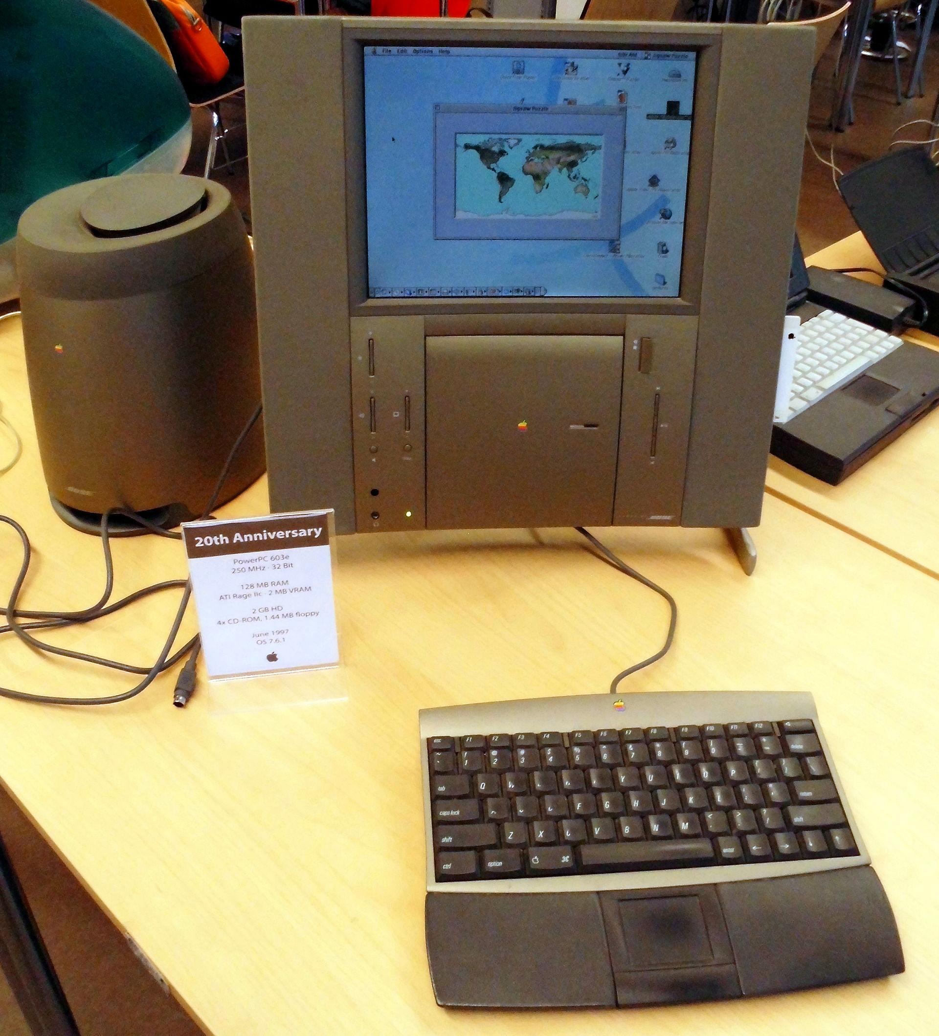 Mac del 20th aniversario