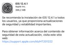 iOS 12.4.2 ya disponible