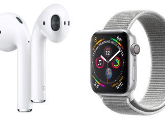 Apple Watch series 4 y AirPods