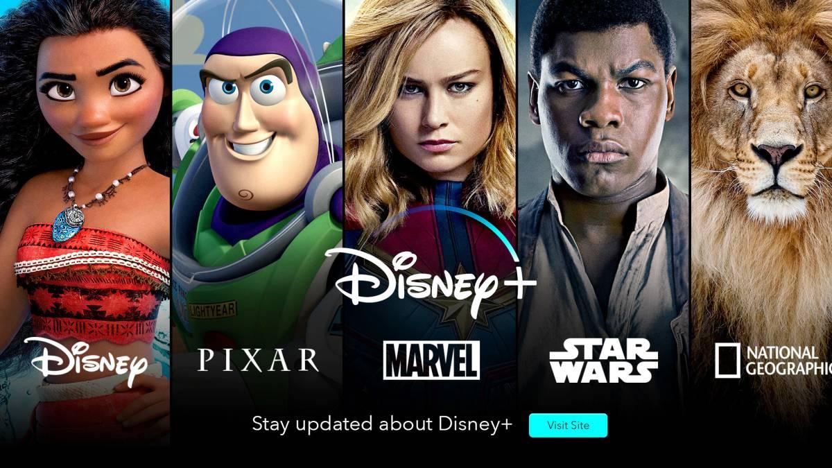 Contenidos de Disney+