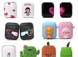 Cajas de carga de AirPods decoradas por usuarios en Corea del Sur