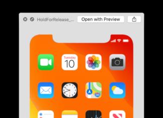 Icono con la fecha del 10 de septiembre en la captura de pantalla de iOS 13 beta 7