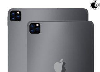 iPad Pro con tres cámaras traseras