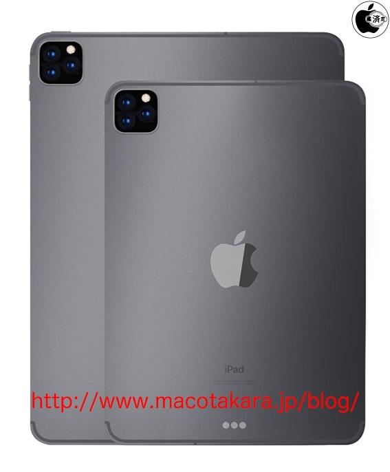 """El próximo iPad Pro podría tener tres cámaras traseras como el iPhone 11, el iPad """"no Pro"""" tendría dos [rumor]"""