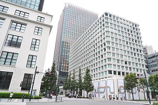 Obras de la nueva Apple Store de Marunouchi, en Tokio
