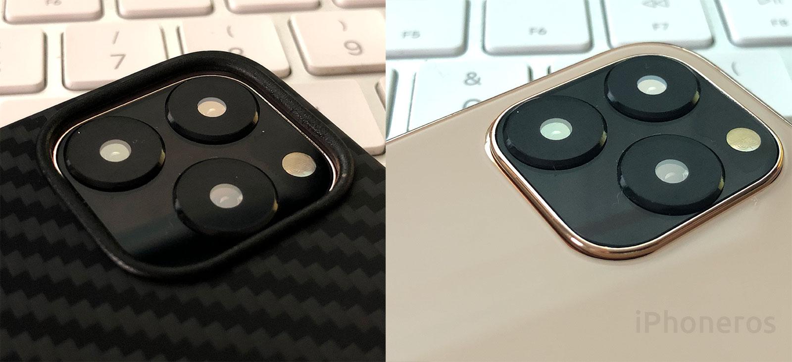 Maqueta del iPhone 11 con su funda