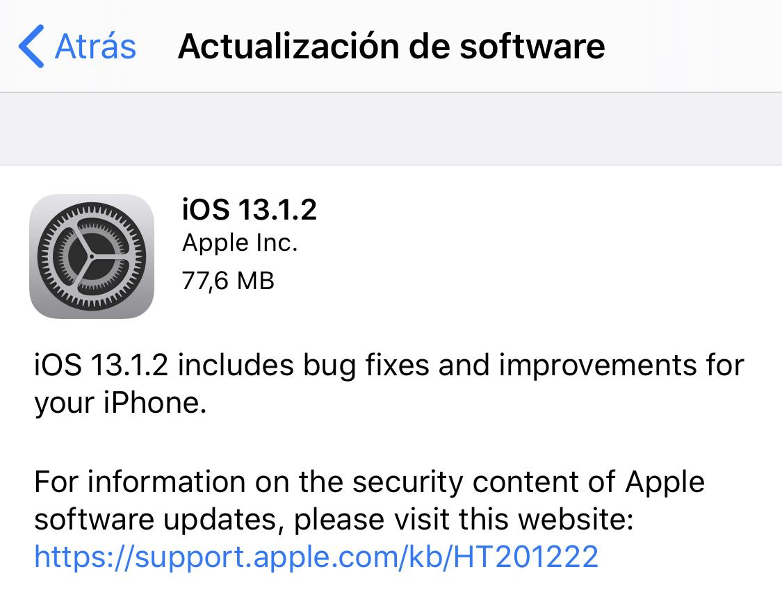 iOS 13..1.2