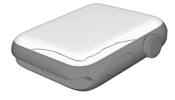Grietas en el borde de la pantalla del Apple Watch