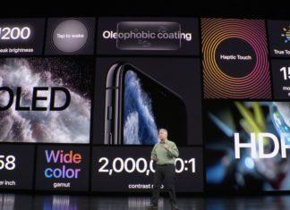 Keynote Septiembre 2019: Phil Schiller presentando el iPhone 11 Pro con resumen de características