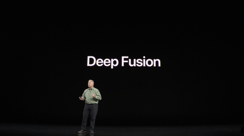 Phil Schiller presentando Deep Fusion en el iPhone 11 Pro (Keynote)