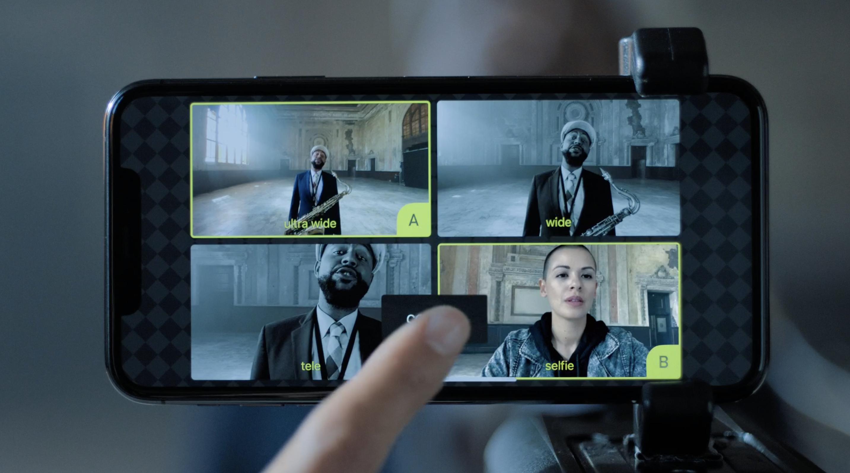 Keynote Septiembre 2019: iPhone 11 Pro varias grabaciones de vídeo simultáneas