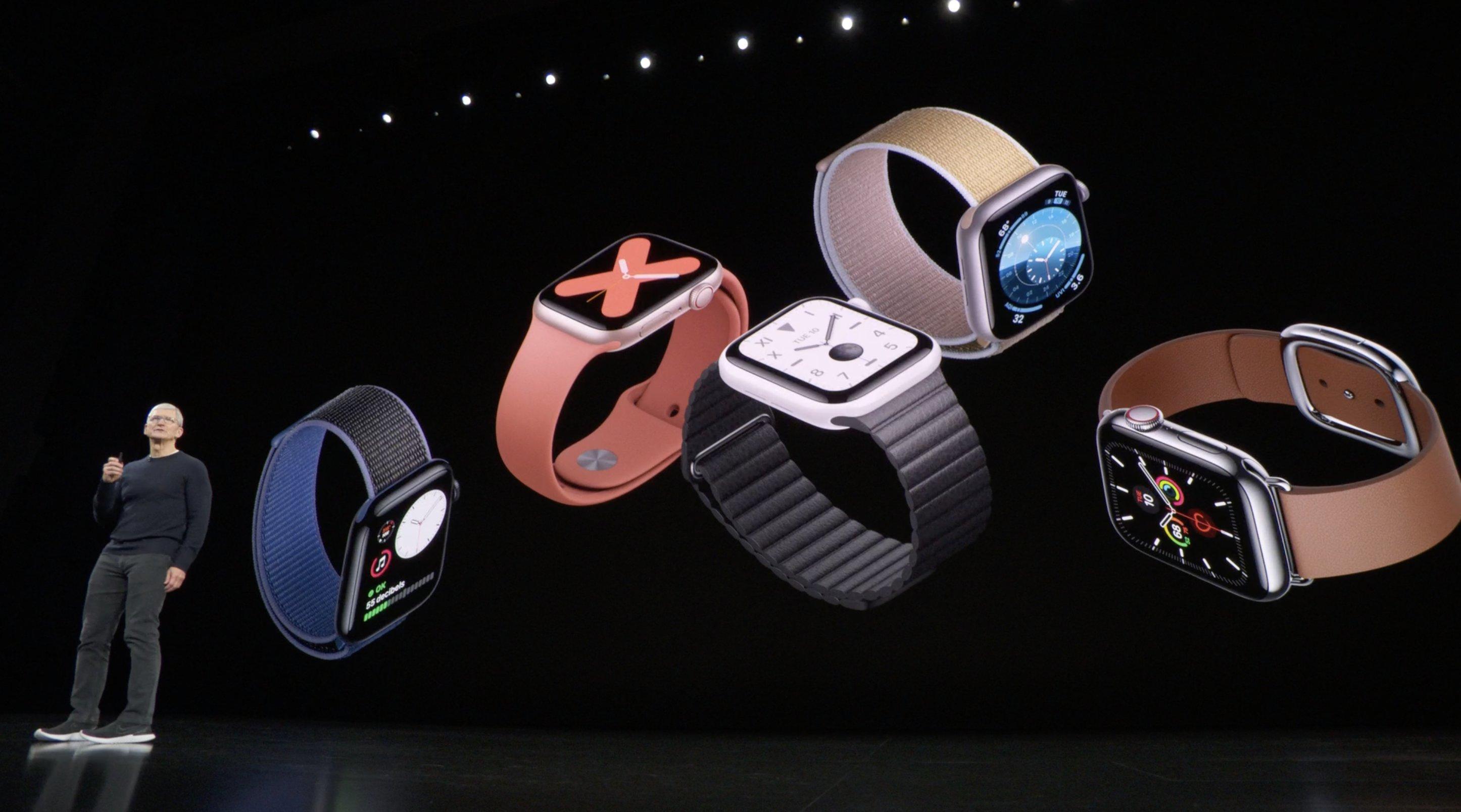 Keynote Septiembre 2019: Apple Watch series 5 y Tim Cook