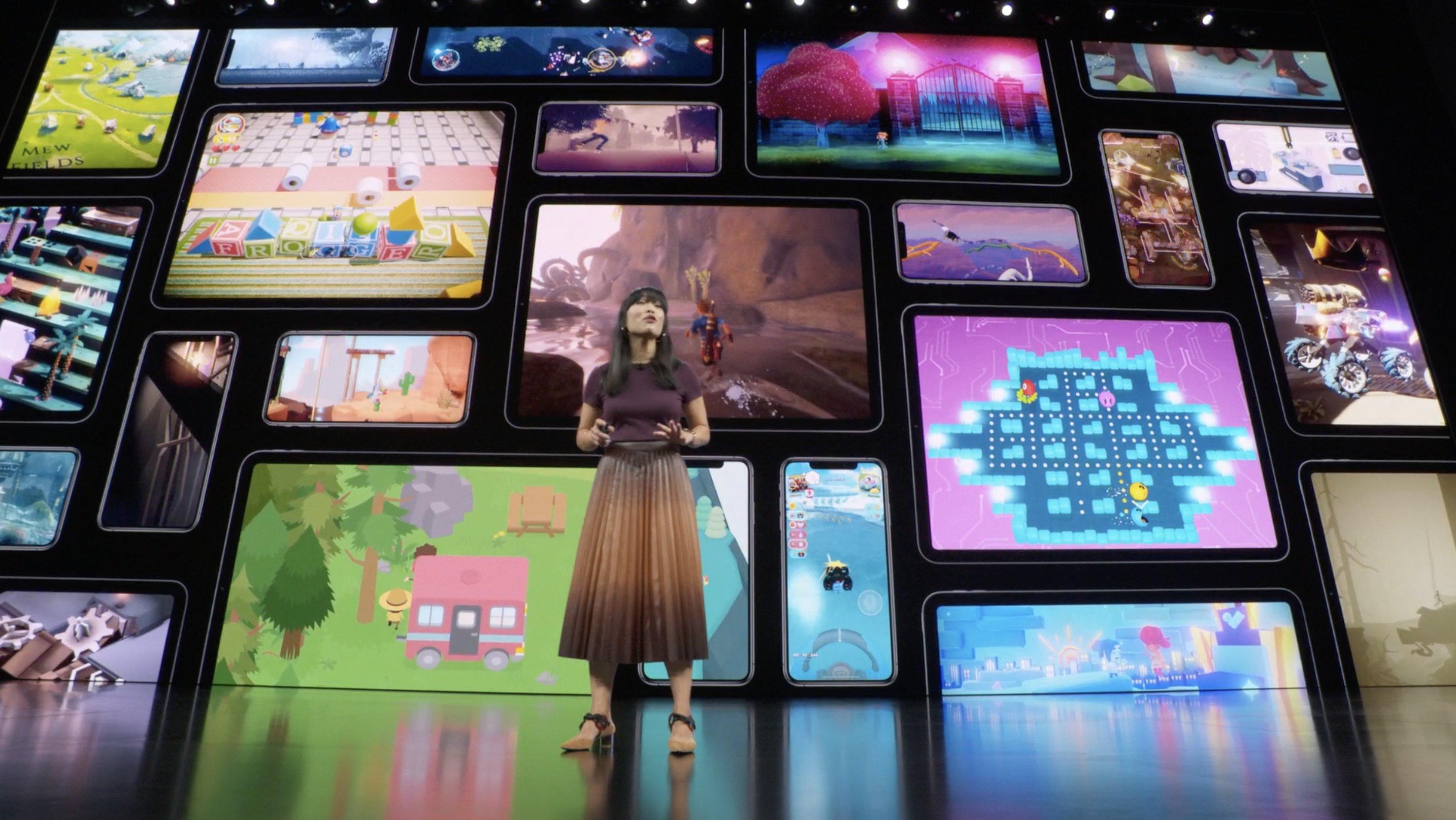 Dando la fecha de lanzamiento de Apple Arcade