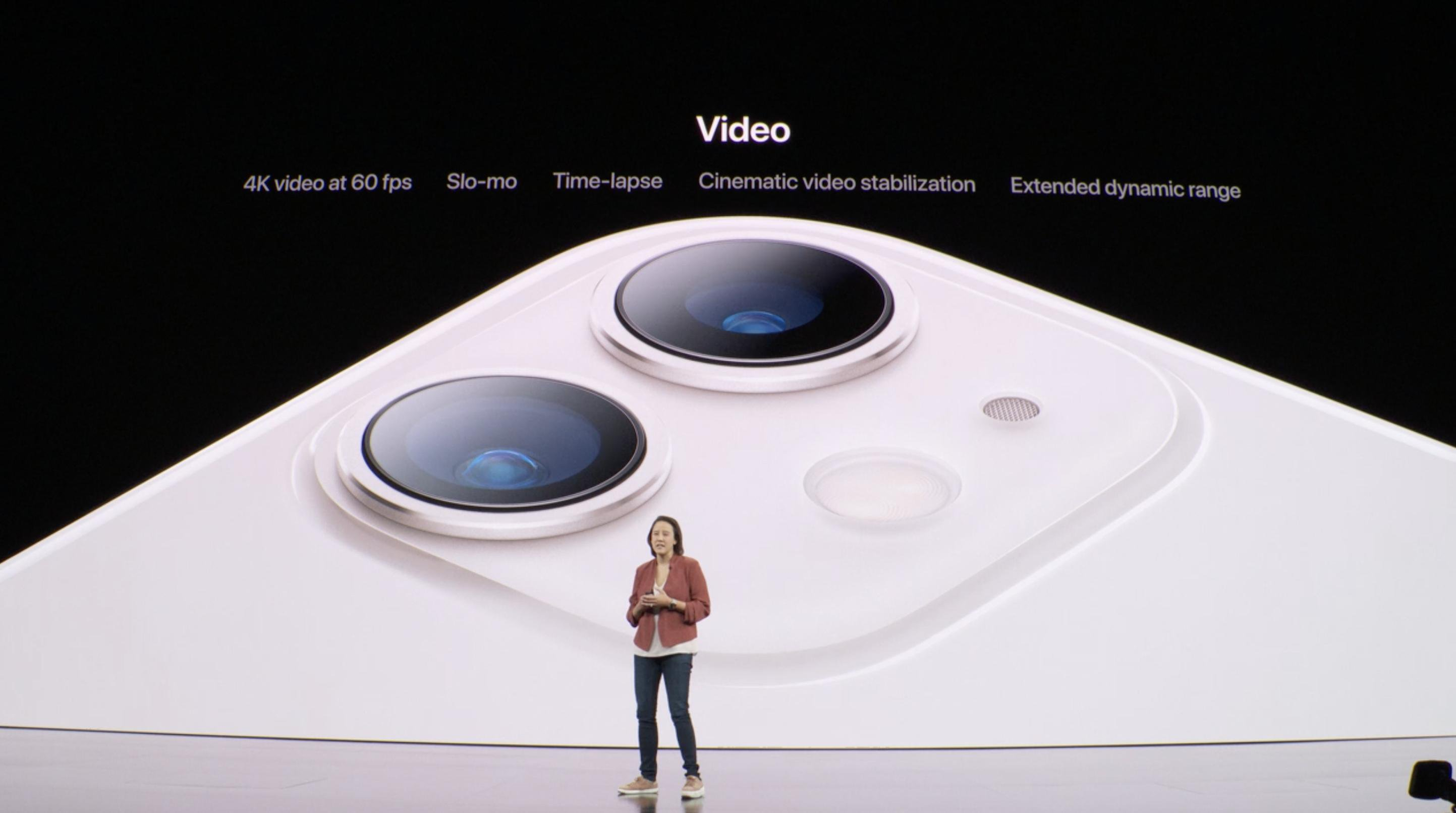 Cámara doble del iPhone 11