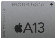CPU A13 de Apple