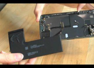 Dos conectores para la batería del iPhone 11 Pro