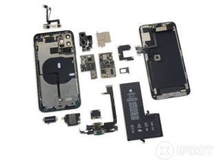 Todos los componentes del iPhone 11 Pro