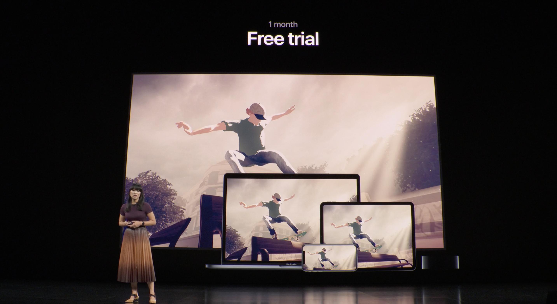 Un mes gratis de Apple Arcade (Keynote)