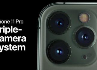 Tres cámaras en el iPhone 11 Pro