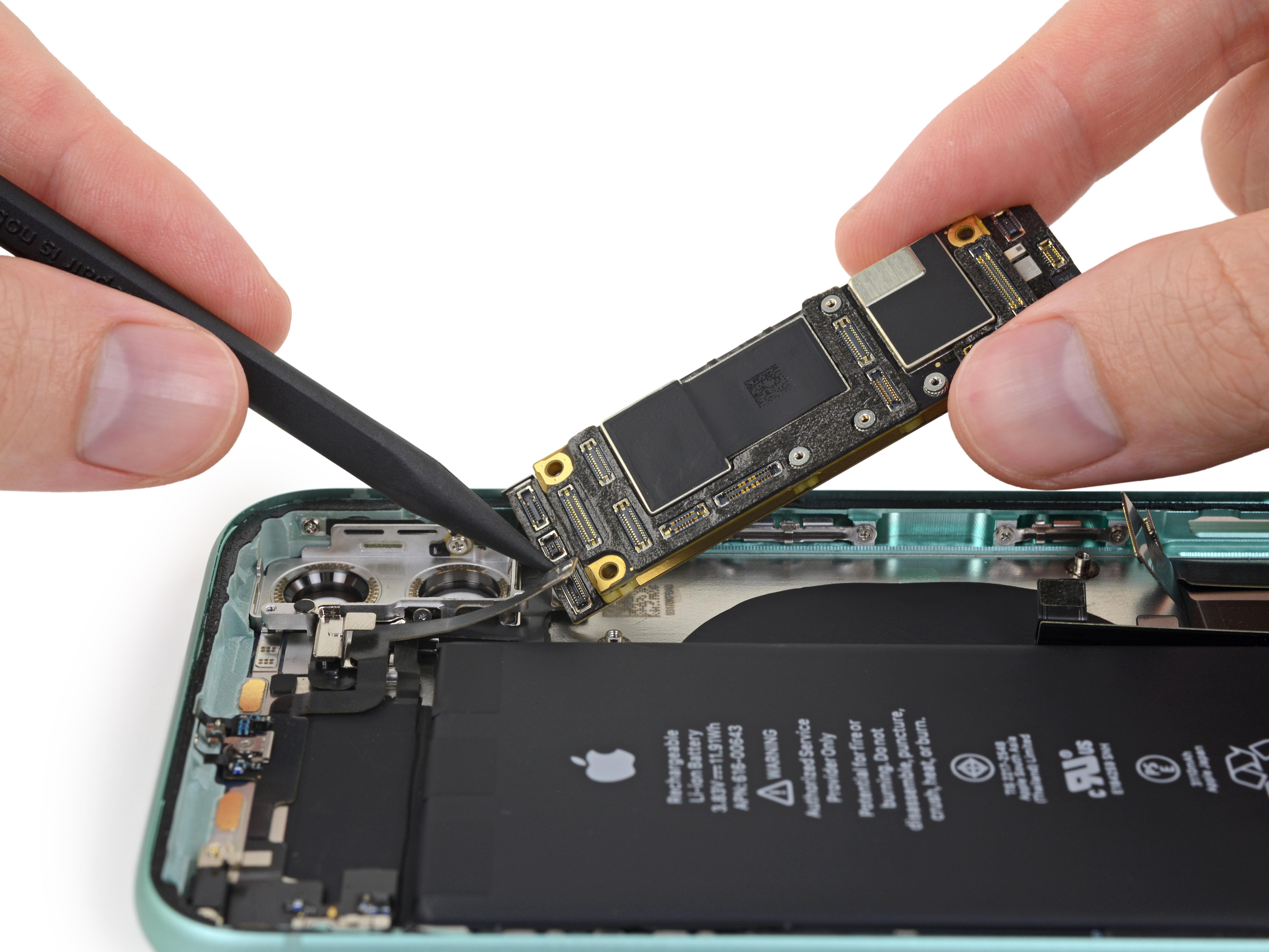 Placa base del iPhone 11