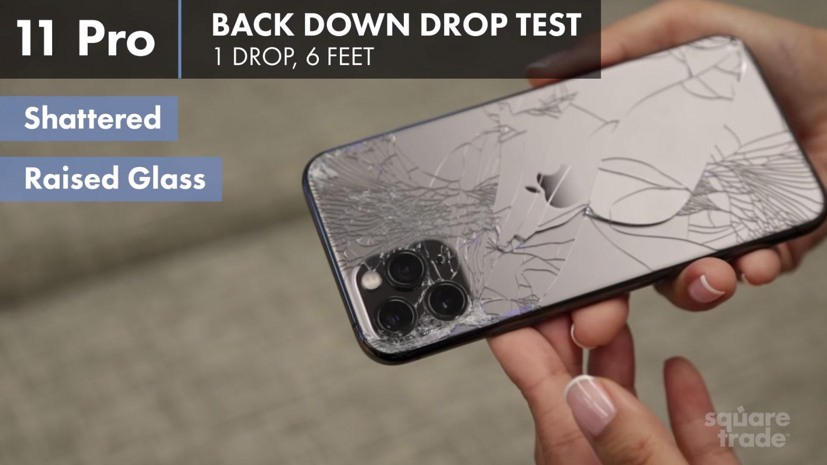 iPhone 11 Pro roto