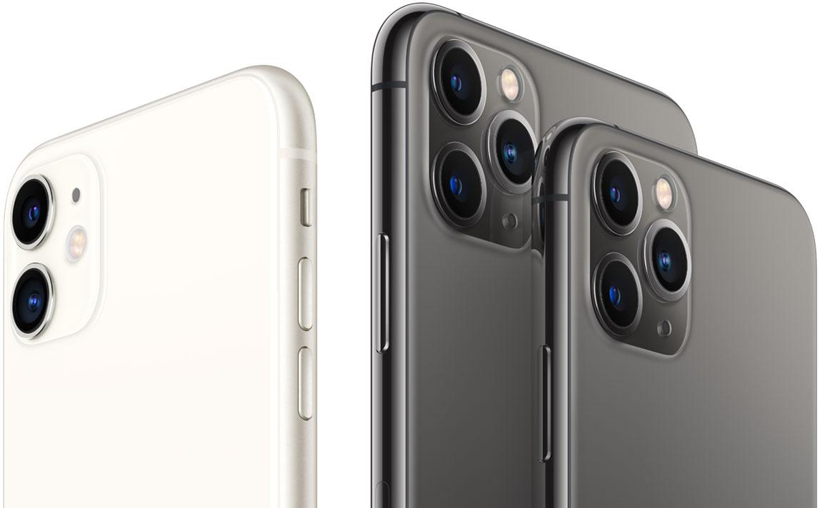 iPhone 11 y iPhone 11 Pro y Pro Max