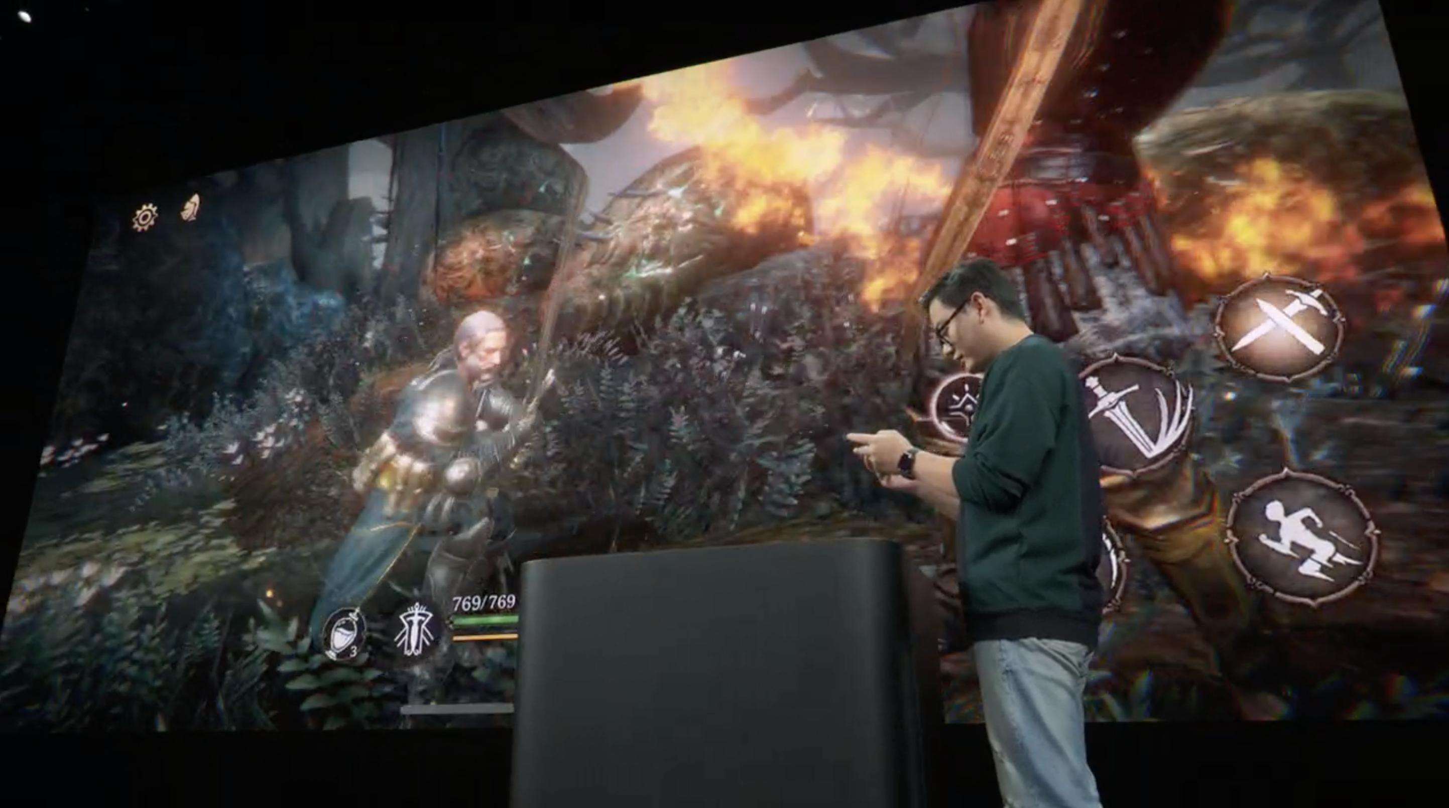 Juego que muestra la potencia de la GPU del A13