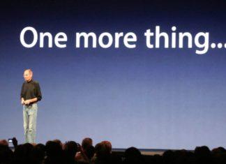 Steve Jobs y su One More Thing...