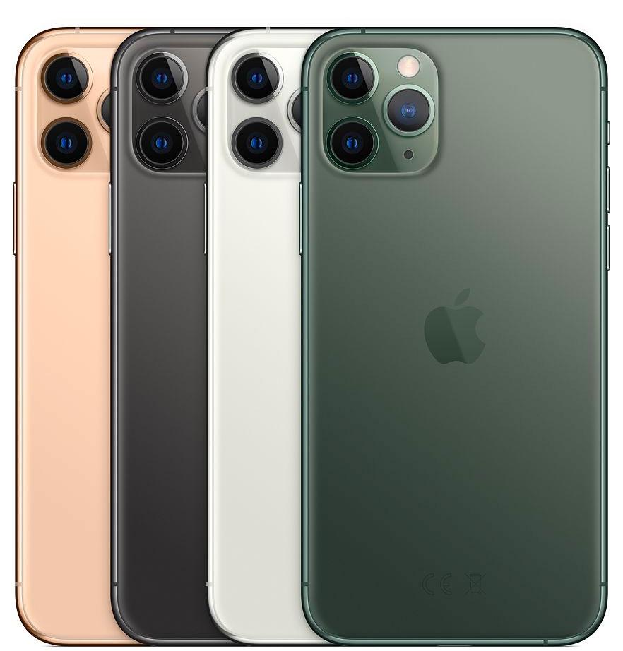 Colores del iPhone 11 Pro