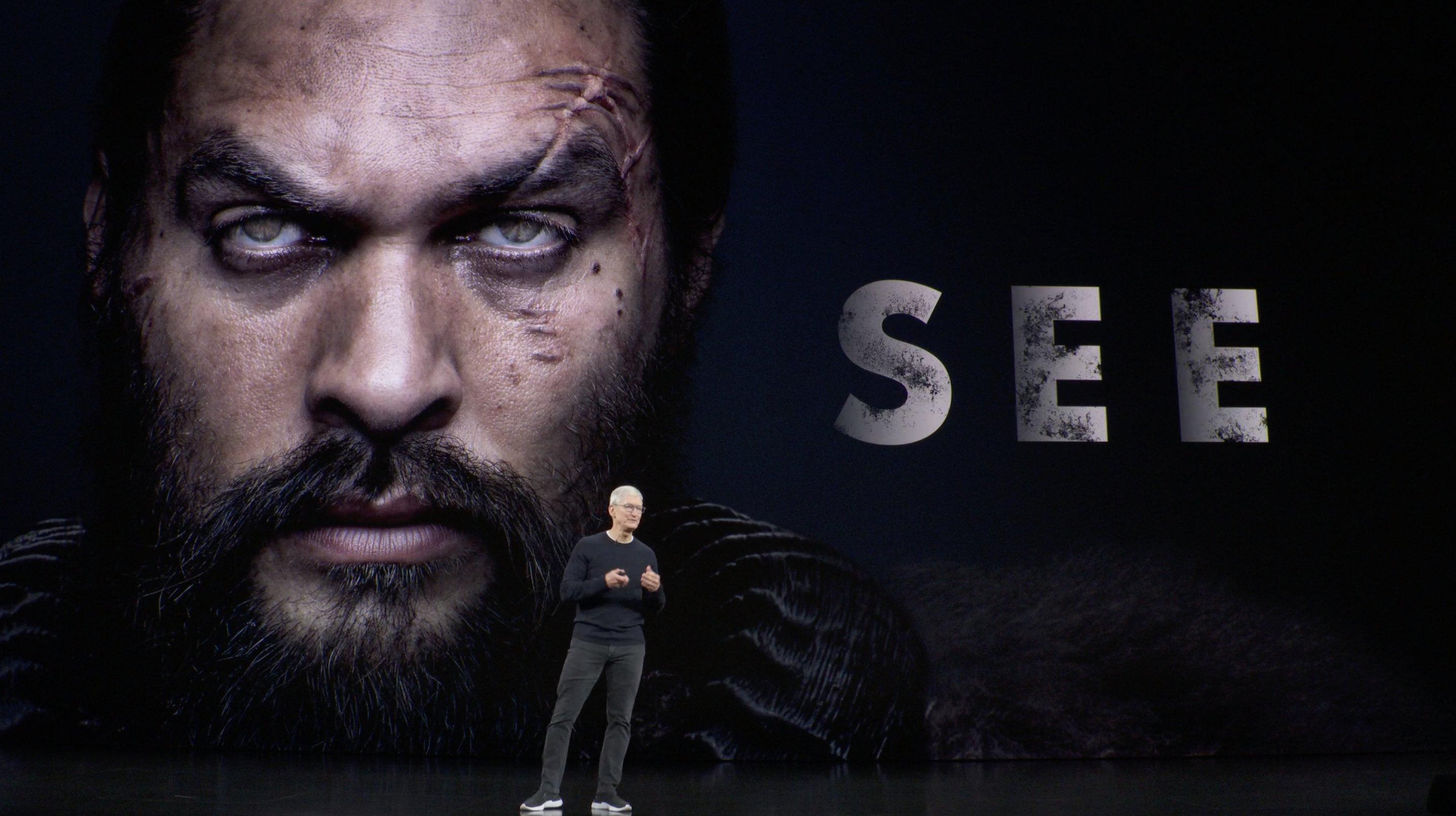 Trailer de See para Apple TV+ con Tim Cook (Keynote)