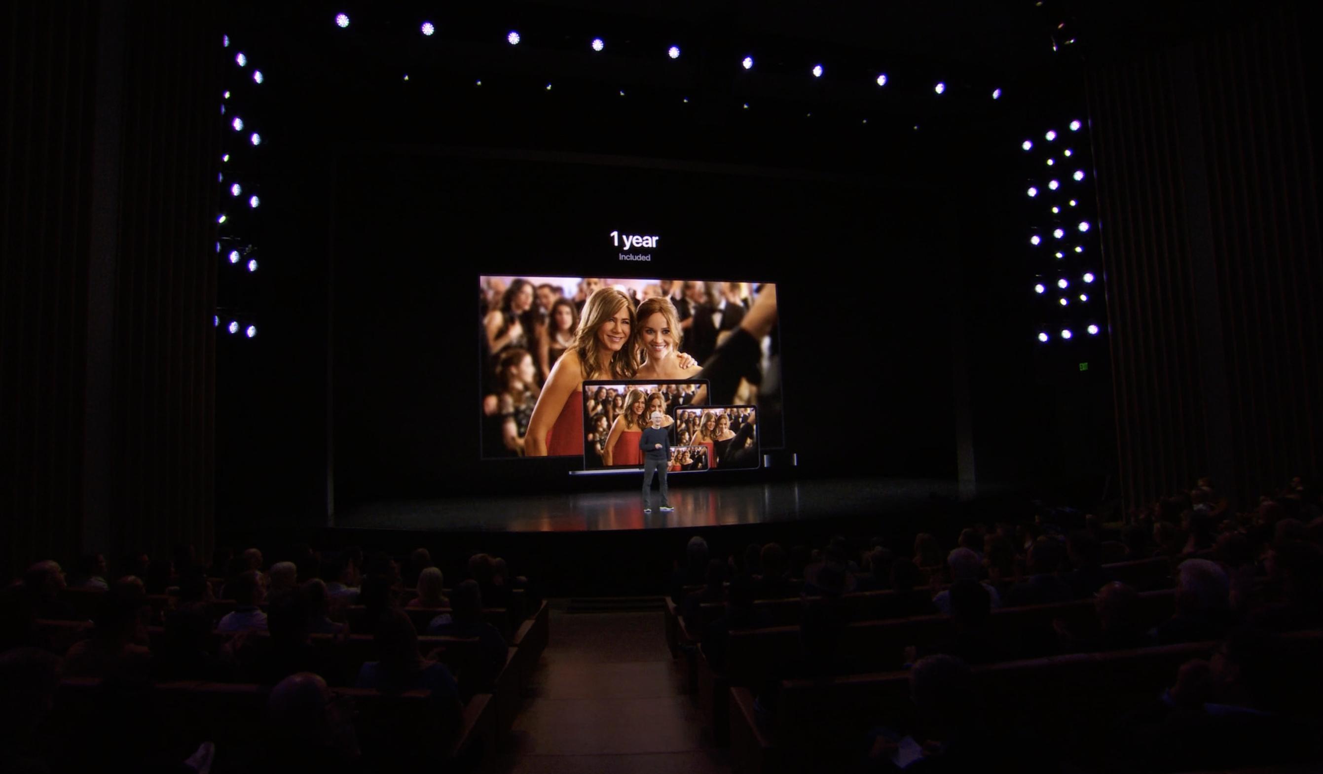 Un año gratis de Apple TV+ al comprar cualquier producto de Apple (Keynote)