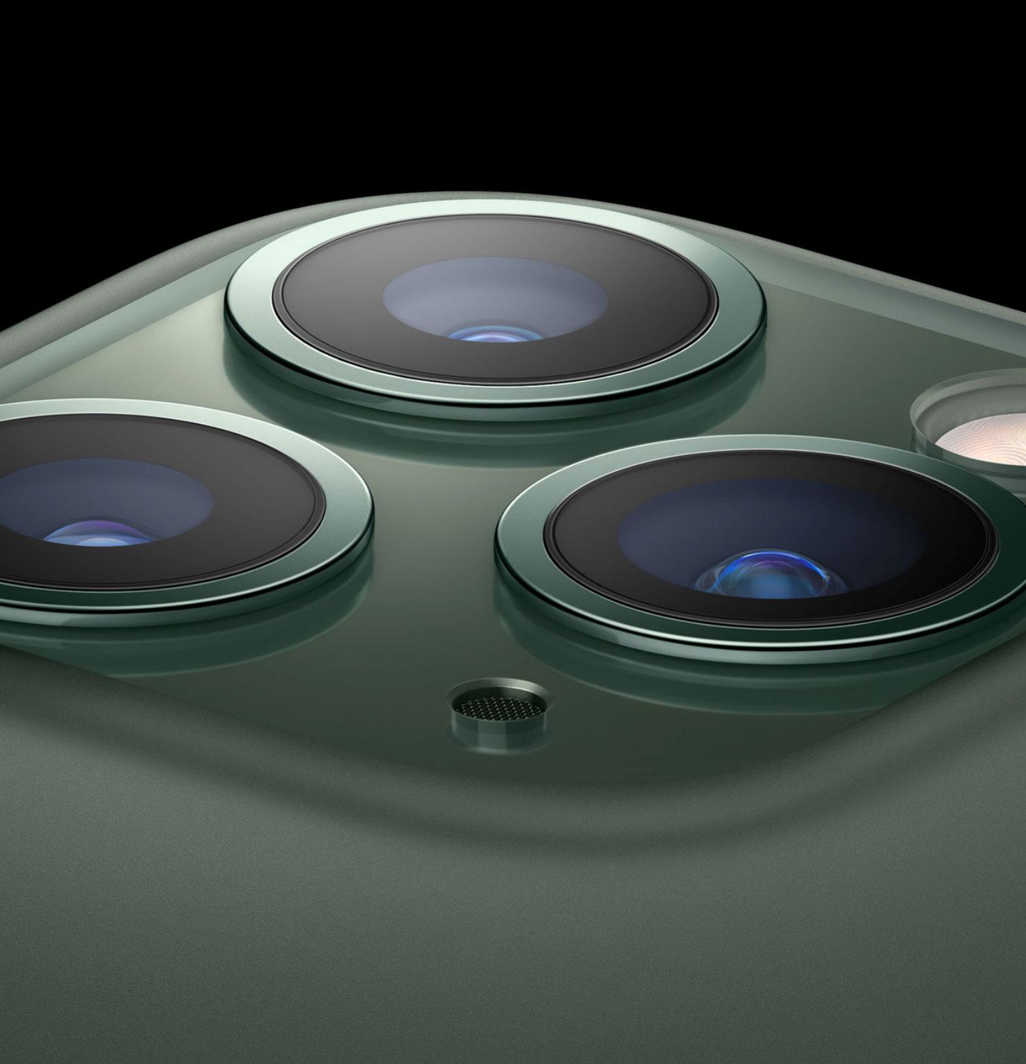 iPhone 11 Pro y sus tres cámaras traseras