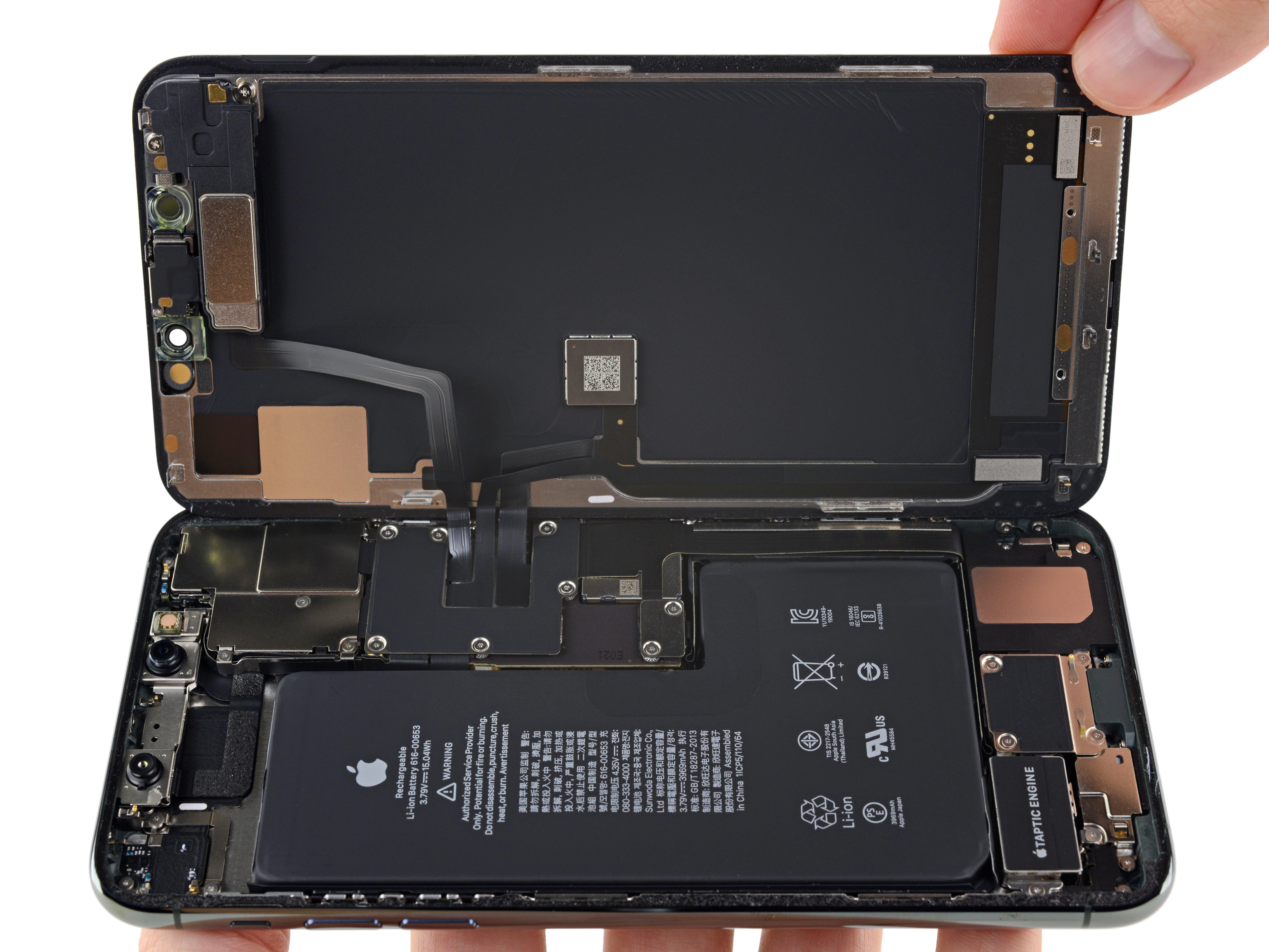 iPhone 11 Pro por dentro