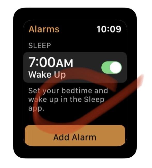 Mención a una App de Sueño