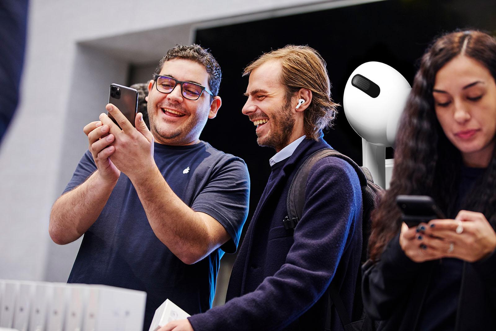 Lanzamiento de AirPods Pro en Milán