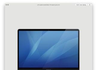 MacBook Pro de 16 pulgadas en color gris espacial
