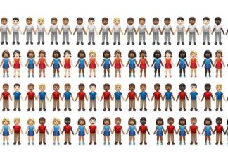 Emoji de parejas que llegará con iOS 13.2 (vía emojipedia)
