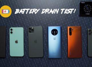 Comparación de duración de batería entre el iPhone 11, 11 Pro Max, 11 Pro, NotePlus 7T, Huawei P30 Pro, Galaxy Note 10+