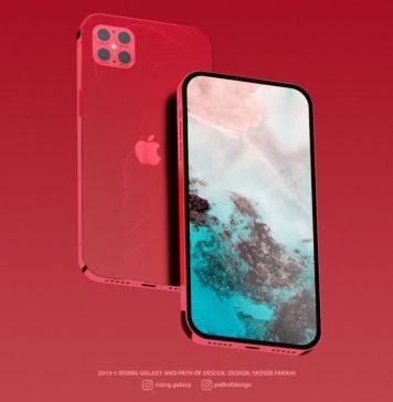 concepto de diseño iPhone 12 con el estilo dei Phone 5