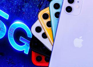 iPhone 11 con logo de 5G, vía Reuters.