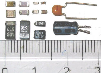 Diferentes tipos de condensadores