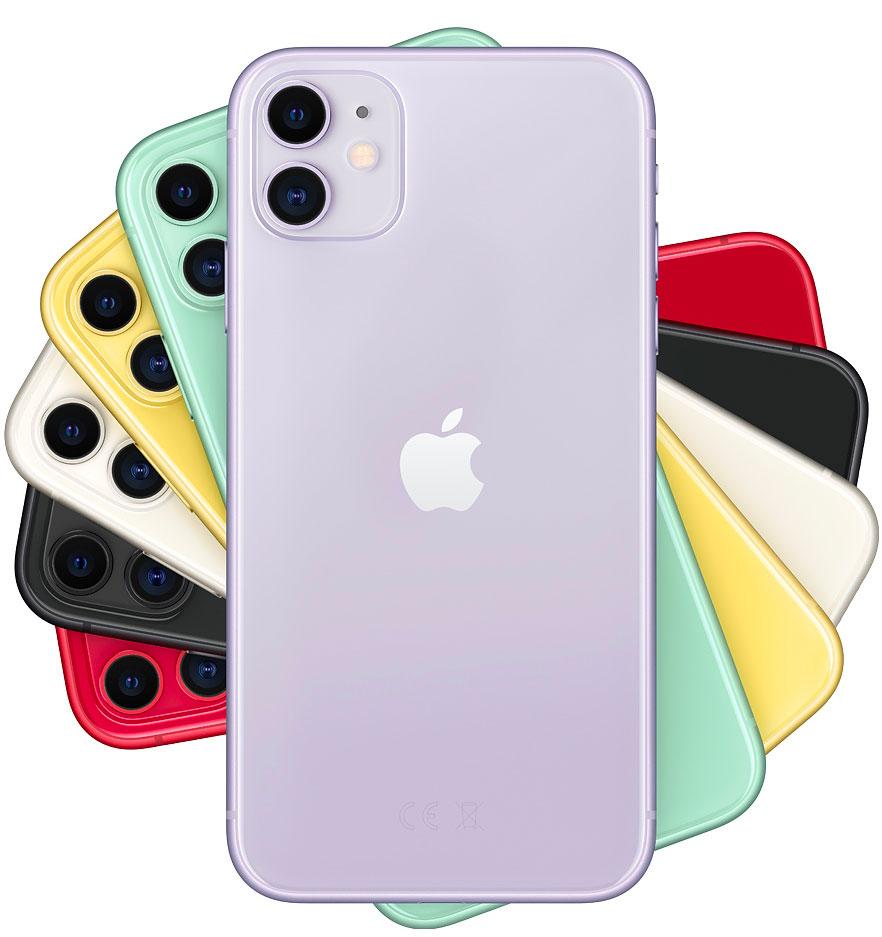 Todos los colores del iPhone 11